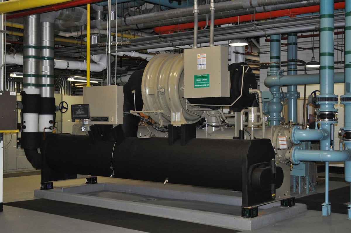 A- Water Cooled Chiller Replacement Healthcare 1