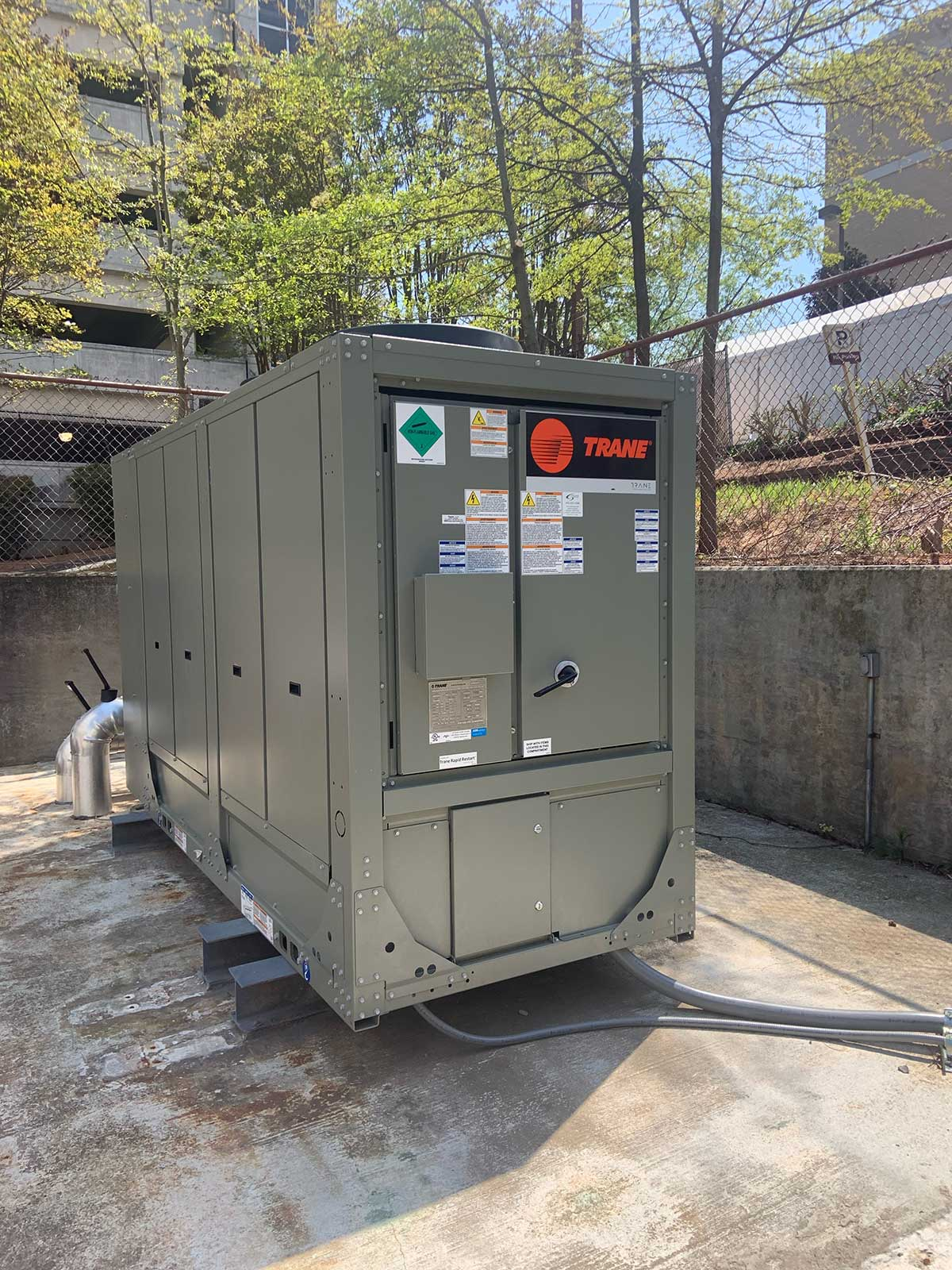 Air Cooled Chiller Replacement