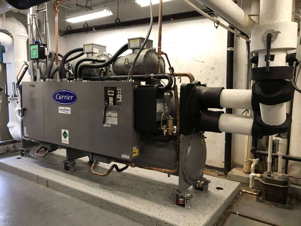 Water Cooled Chiller Replacement